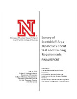 Survey of Scottsbluff Area Businesses about Skill and Training Requirements